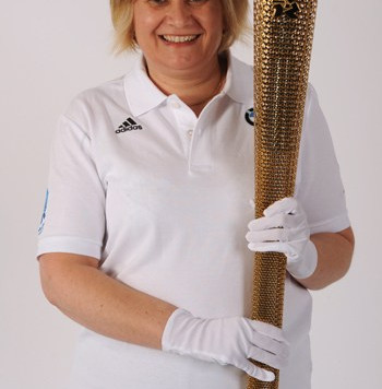 Torch Relay Selection for Dolphin's Sharon Woolford