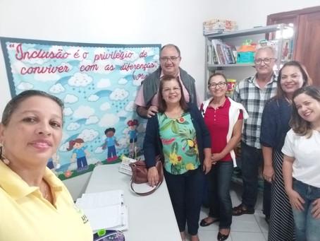 Visita do Governador Distrital do Rotary Club