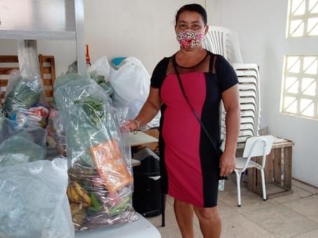 Apae Porto Seguro foi contemplada com 20 cestas básicas