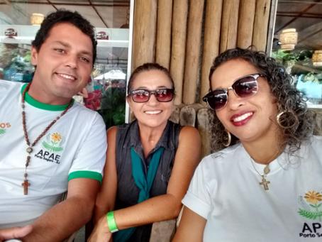 """Evento solidário """"FEIJOADA"""", realizado em maio de 2019, na Barraca do Zil, na Coroa Vermelha"""