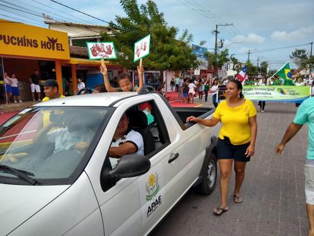 Apae agradece todos os colaboradores em desfile cívico realizado no dia 7 de setembro