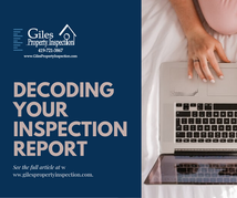 Decoding Your Inspection Report