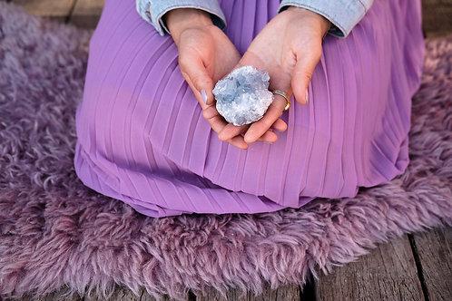 Celestien Mineraalsteen