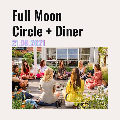 Aquarius II - Full Moon Circle + Diner