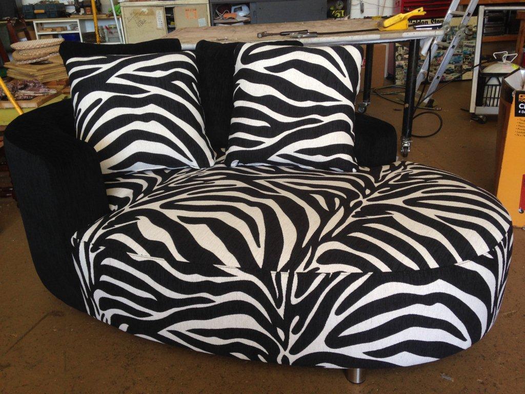 After: Warwick Zebra print