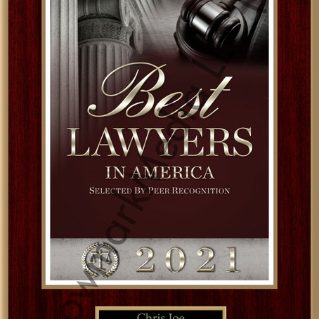 Eric Buether and Chris Joe Named to 27th Edition of The Best Lawyers in America©