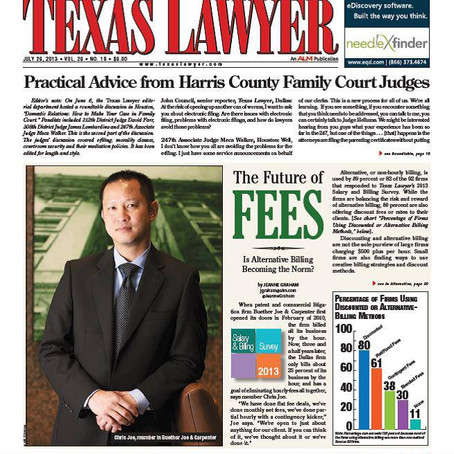 Texas Lawyer - The Future of Fees