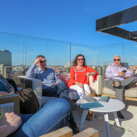 A Beautiful Day for a BJC Happy Hour!