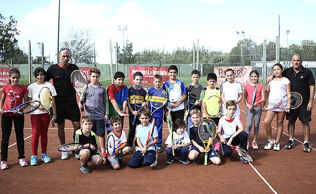 La Escuela de Tenis se sigue agrandando