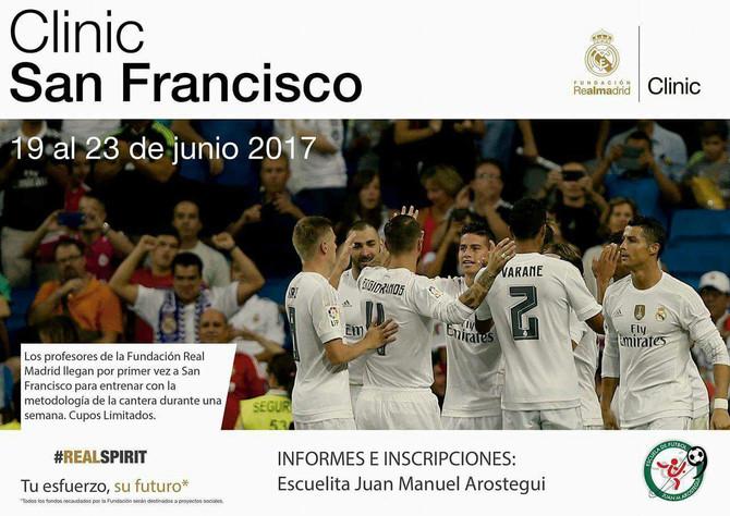 Se cierran las inscripciones para la clínica del Real Madrid