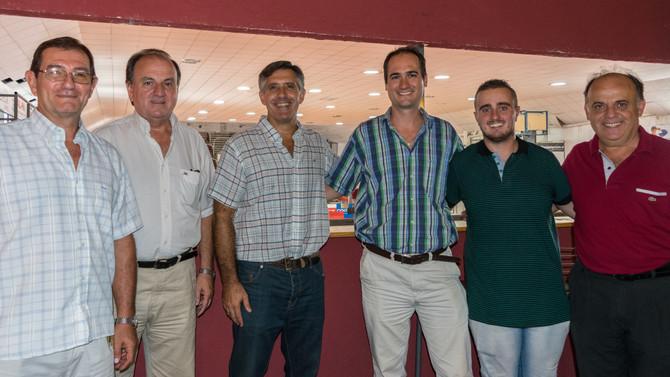 San Isidro firmó convenio con el Club Atlético Brown de San Vicente