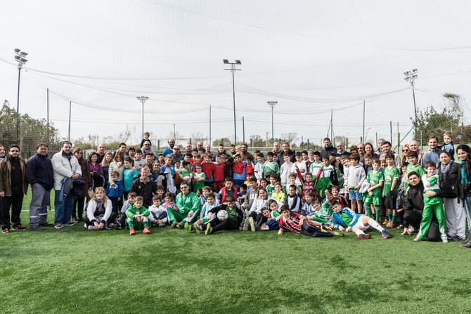 Encuentro de escuelas de fútbol
