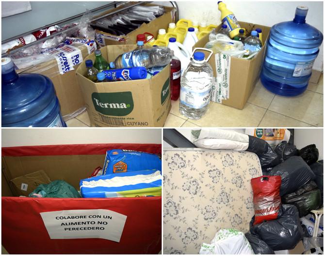San Isidro continúa con la campaña por los inundados