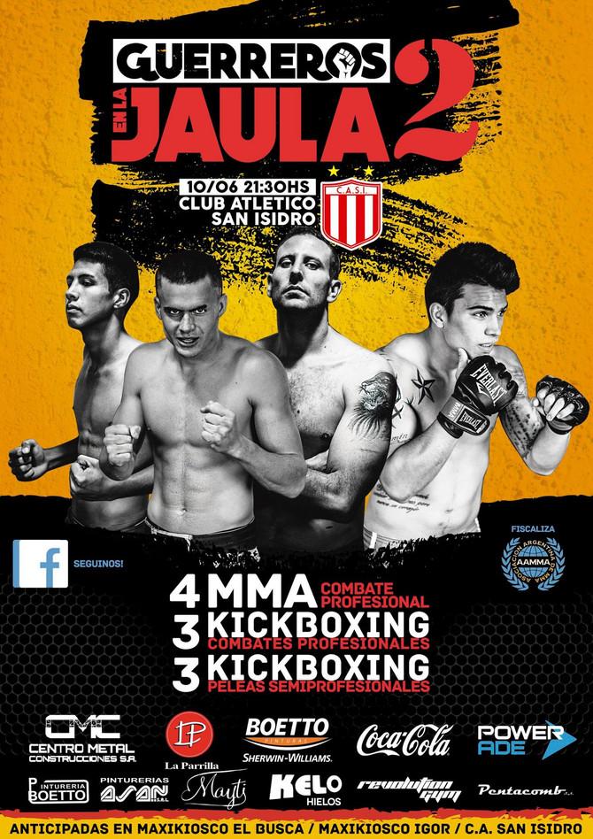 Viernes de Kick Boxing y MMA en San Isidro