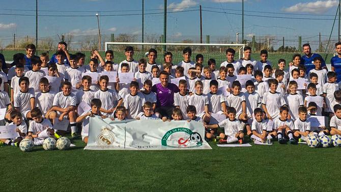 """La """"Clinic Real Madrid"""" tuvo gran éxito"""