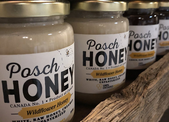 Posh Wildflower Honey