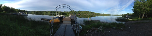Panoramic View from the Cedar Grove docks