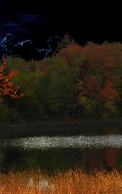 Moon Scape Mc Charles Lake Northern Onta