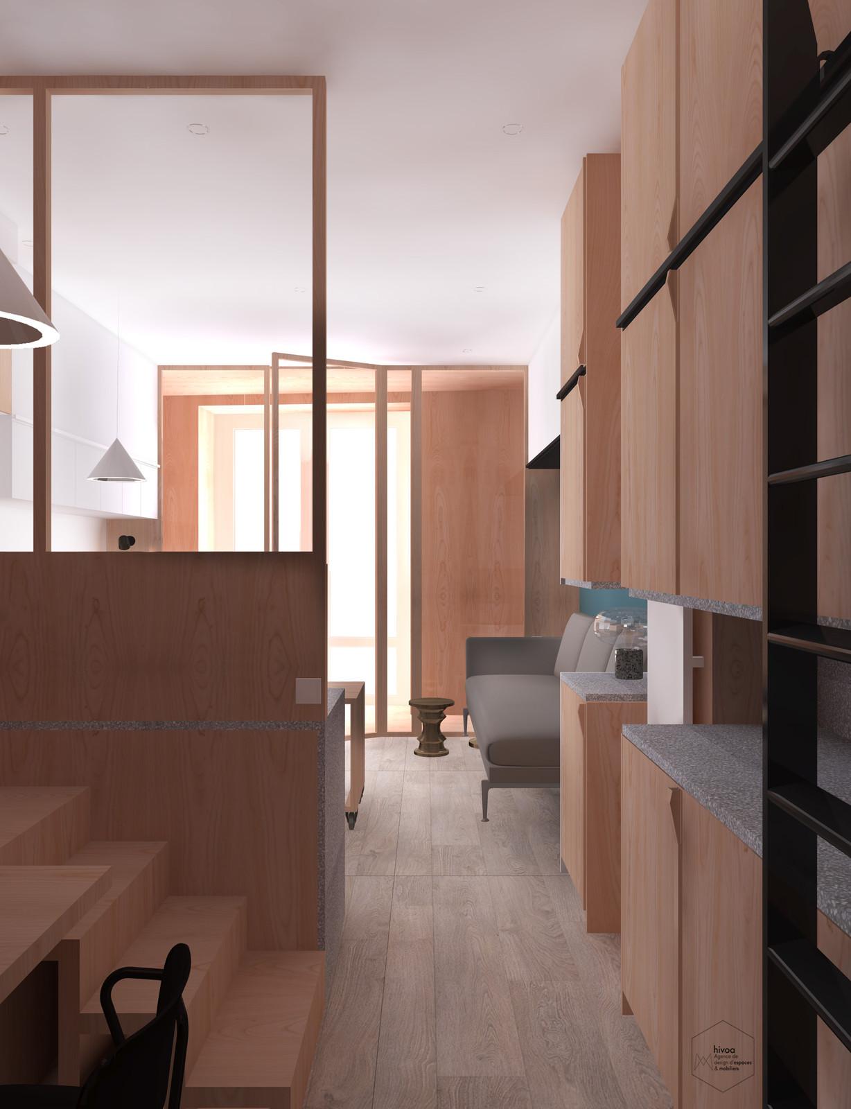 agence hivoa architecte d 39 int rieur bordeaux. Black Bedroom Furniture Sets. Home Design Ideas