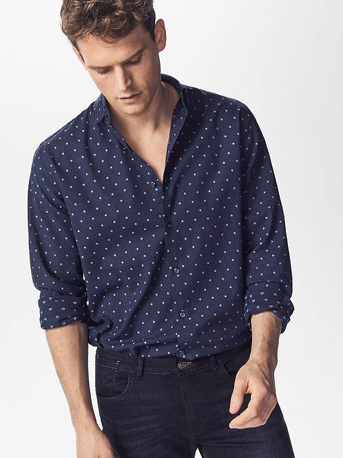 Fil Coupé Polka Dot Shirt