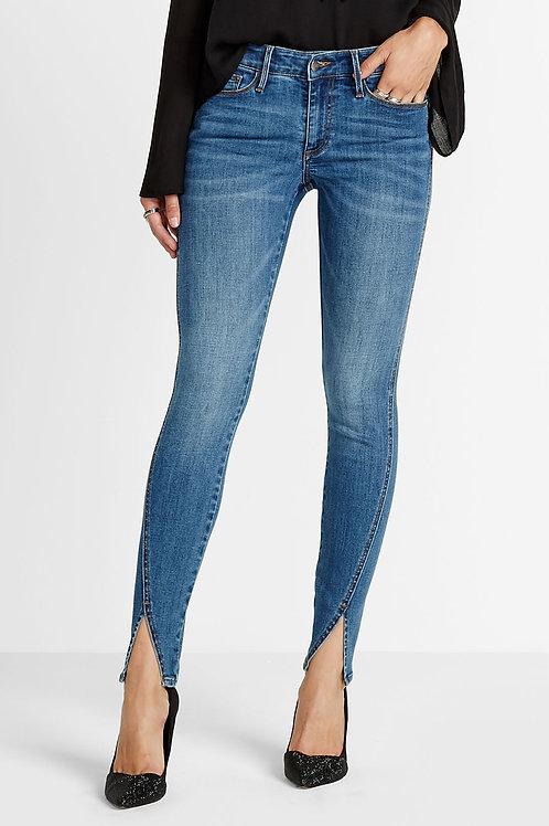 Sam Skinny Jeans V Hem