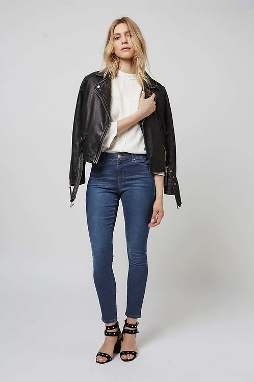 Leigh Mid Rise Skinny Jeans