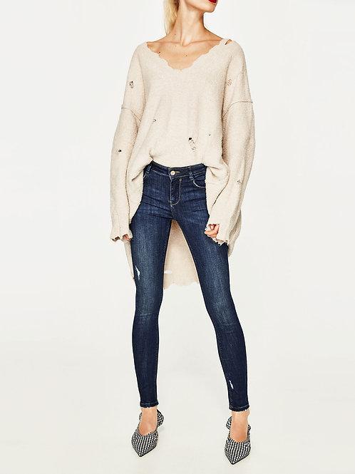 Low Rise Slim Fit Jeans