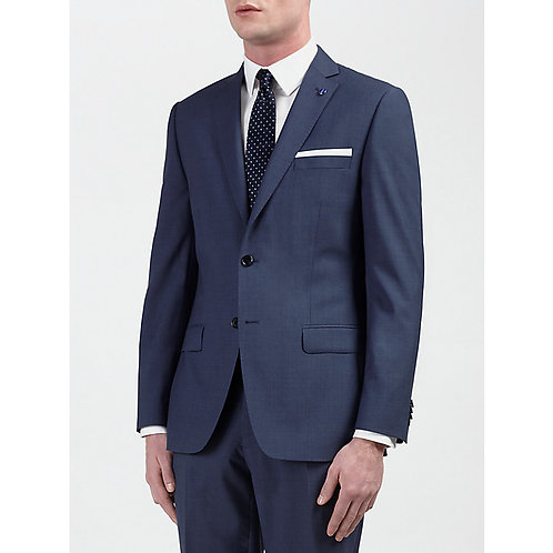 Textured Marle Tailored Suit Jacket
