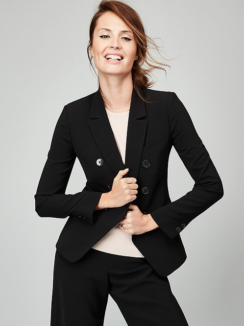 Collared Double Breasted Jacket