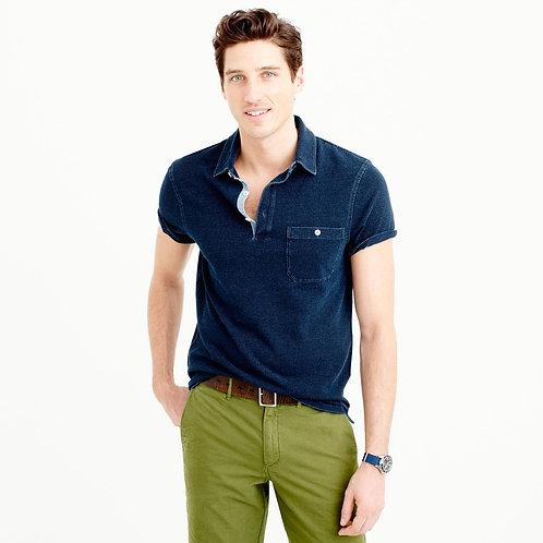 Indigo Polo Shirt