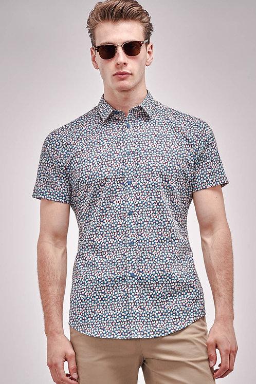 Ditsy Floral Print Shirt