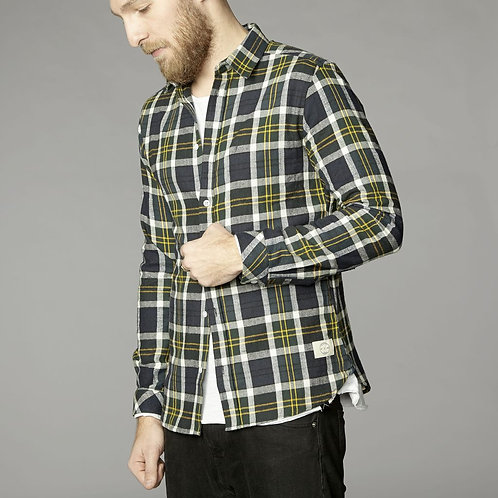 Pirate Brushed Cotton Y/D Check Shirt