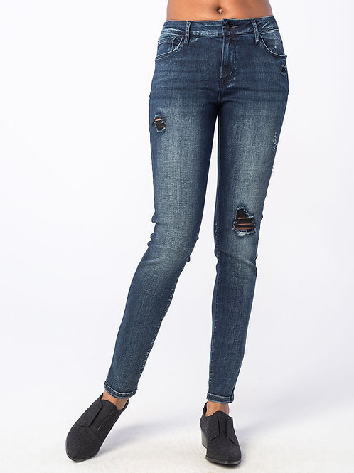 Knockout Skinny Mid Rise Jeans