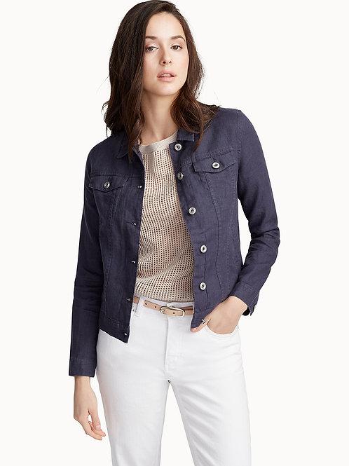 Denim Style Linen Jacket