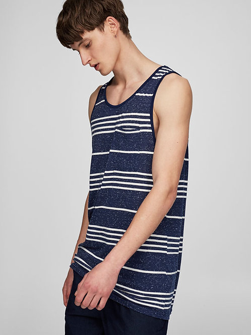 Yarn Dyed Stripe Tank