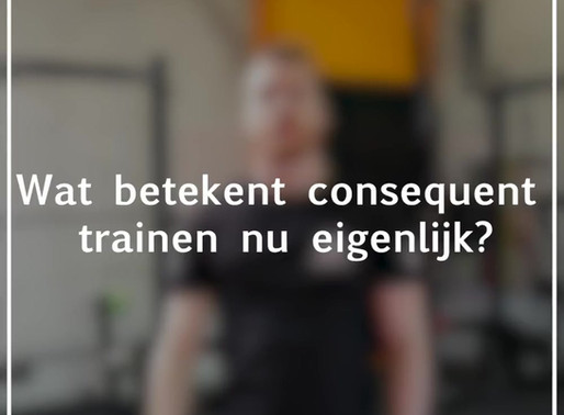 CONSEQUENT TRAINEN?