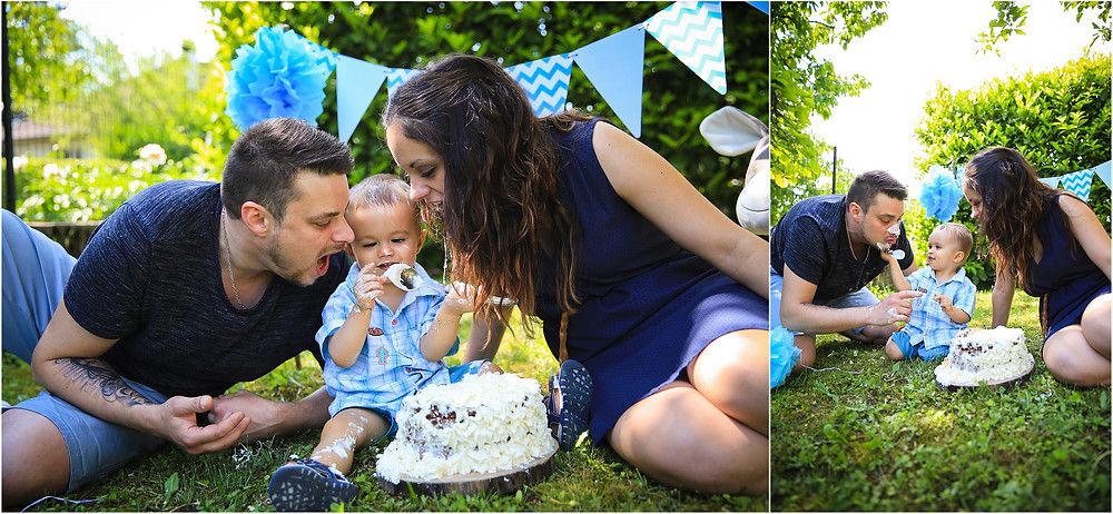Smash the cake Elow Photographies Grenoble photographe