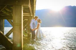 trash the dress après mariage lac du bourget elow photographies