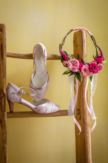 Photo de préparatif de mariage Elow Photographies
