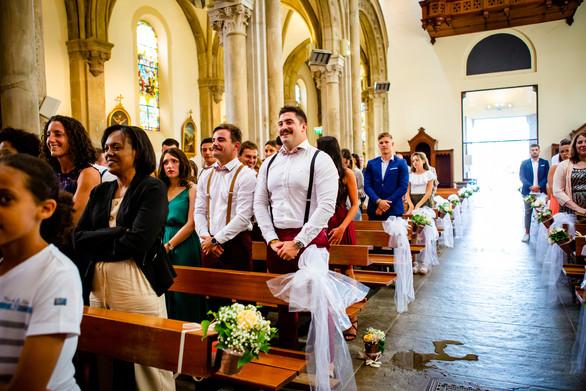 Mariage Soizic & Franck - Eglise - Elow