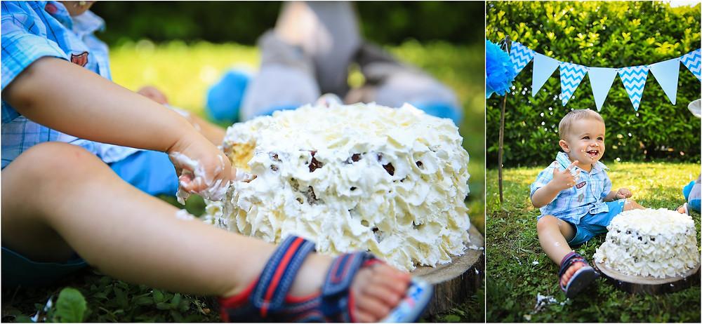 Smash the cake Elow Photographies Grenoble photographe
