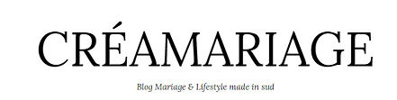 logo du blog creamariage reportage photographie de mariage par elow photographies photographe à grenoble en rhone alpes