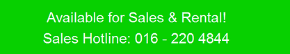 Sales Hotline - 016 220 4844