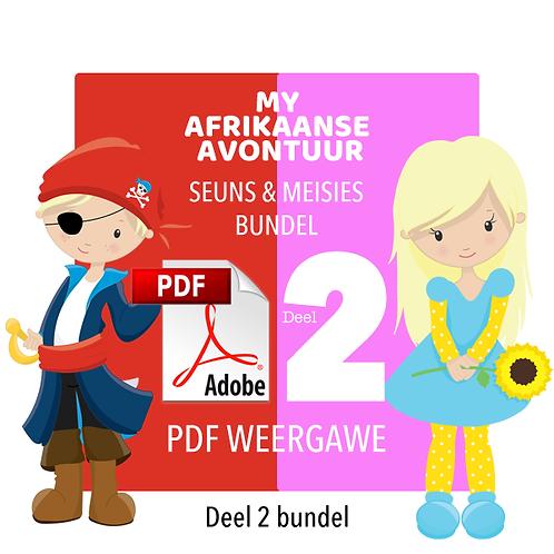 MY AFRIKAANSE AVONTUUR - Deel 2 / Seuns & Meisies Bundel / PDF (1000MB)