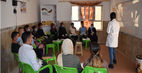 Yazda trained 32 beneficiaries to initiate their agriculture-based small businesses in Sinjar