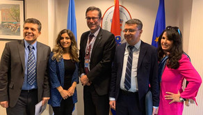 Yazda team met with the Permanent Representative of the Republic of Croatia to the UN