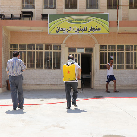 Supporting Sinjar's Educational Initiatives: Yazda is Assisting Students During Their Final Exams