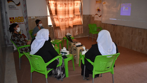 Yazda provided training to 42 beneficiaries who have been selected for small businesses in Sinjar
