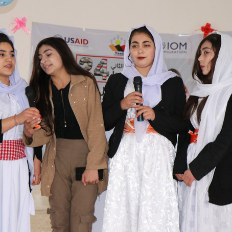 Yazda Celebrate International Day of Education in Sinjar