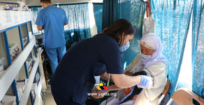 Yazda Mobile Medical Clinic in Sinjar doubles its efforts to respond to COVID-19